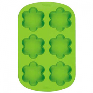 Soap Making Mold 6 Cavity Flower - Silicone Soap Mold