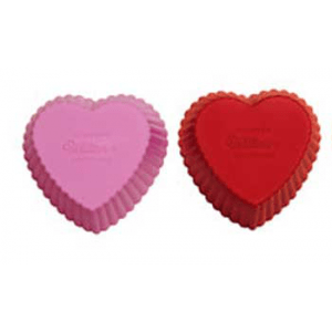 Candle Making Molds Silicone Soap Mold- Heart Cupcakes