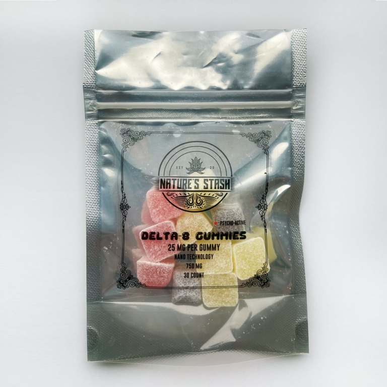 Nature's Stash Delta8 Gummy Samples - 10 Pack