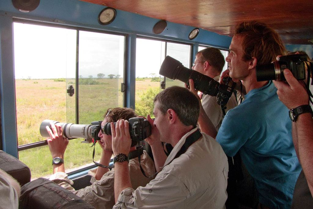 wildlife viewing in Uganda