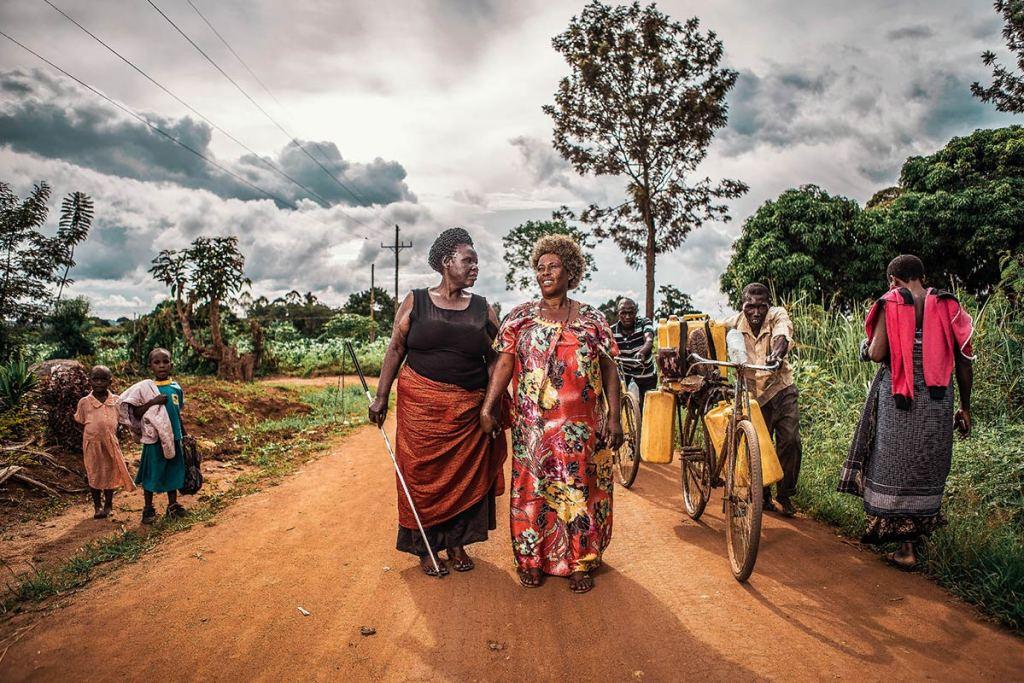 Margeret in Uganda