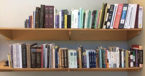 Field Guides on My Shelf
