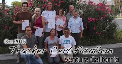 Ventura Tracker Certification 10/25/2015