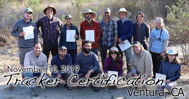 Ventura Tracker Certification 11/10/2019