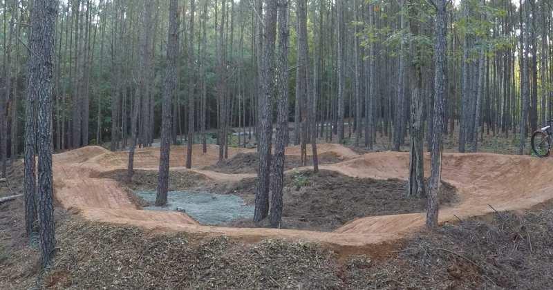 Lake Gaston Private Pump Track