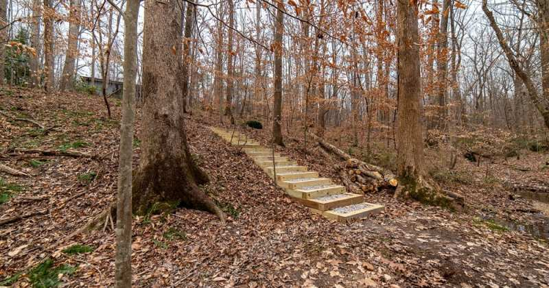 Raleigh Private Walking Trail