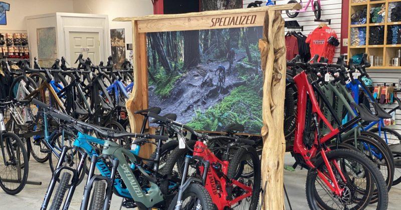 Specialized Bikes Cedar Displays