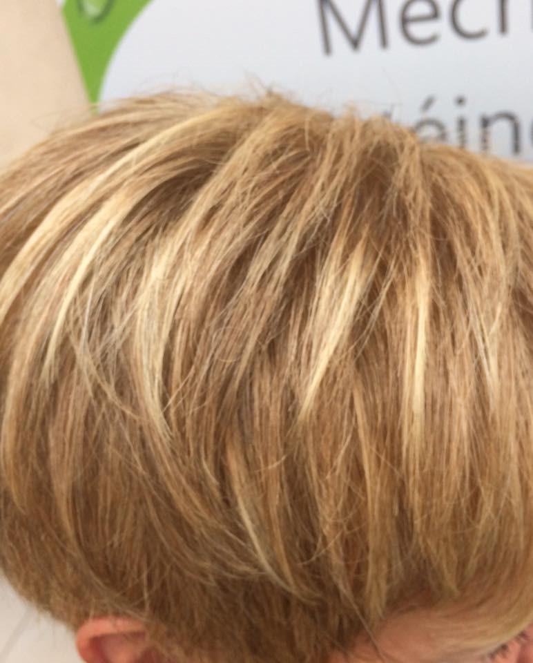 Couleurs Meches Amazing Photo De Meche Blonde Coiffure
