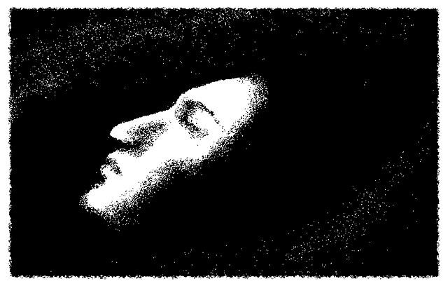 schlafendes Gesicht