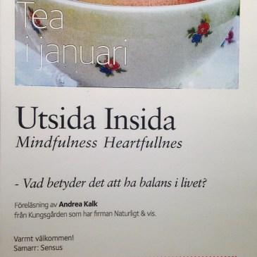Föreläsning i Sandviken 30/1