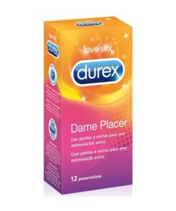 Durex Dame placer con estrías y puntos