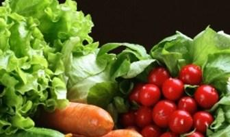 Comida vegetariana, orgánica, sin cocción