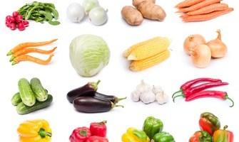 Alimentos vegetales frescos