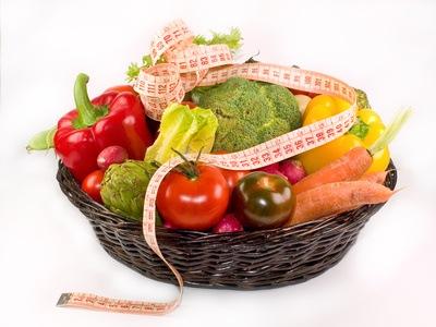 Los alimentos y sus colores