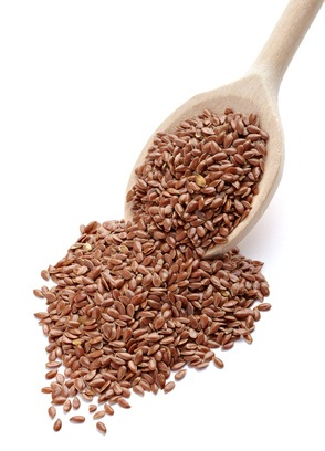 Semillas de lino con fibra