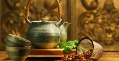 Infusión de plantas medicinales