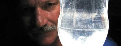 The Moser Bottle Lamp: 'Divine Light'