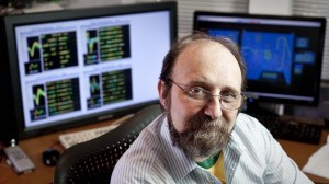 A photograph of scientific pioneer Miguel Nicolelis at Duke University.