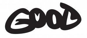 A graphic showing two words into one, illustrating the duality of Good and Evil.