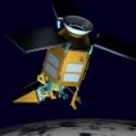 An artist impression of the Sentinel-5P observation satellite.