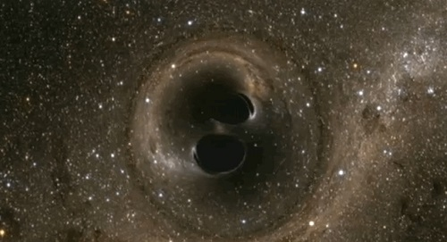 The Discovery of Gravitational Waves – Merging Black Holes and Advanced LIGO