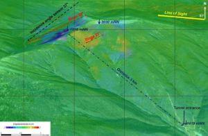A Sentinel topographic profile of North Korea.