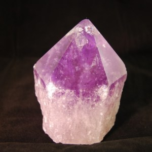 Mineral - Ametrine quartz point2