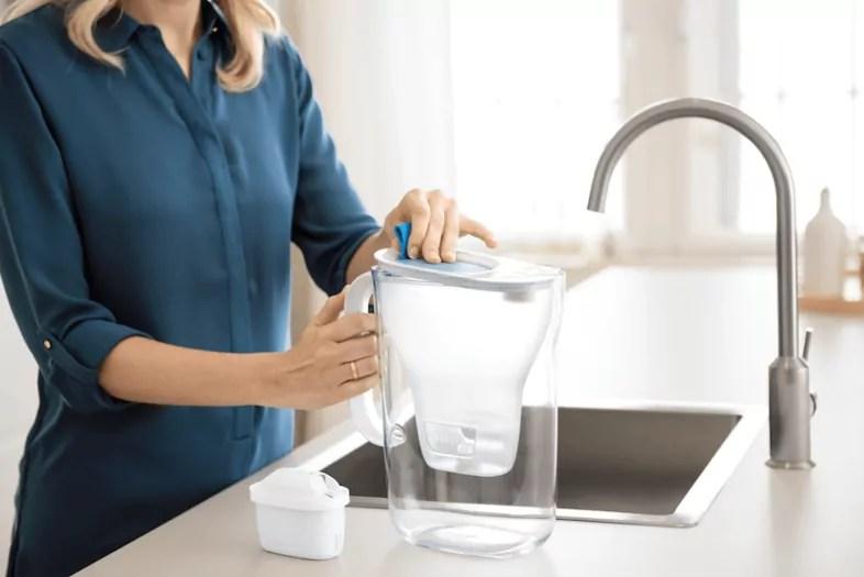 Caraffa acqua potabile