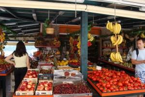 Markt Griekenland Natuurlijk Linda