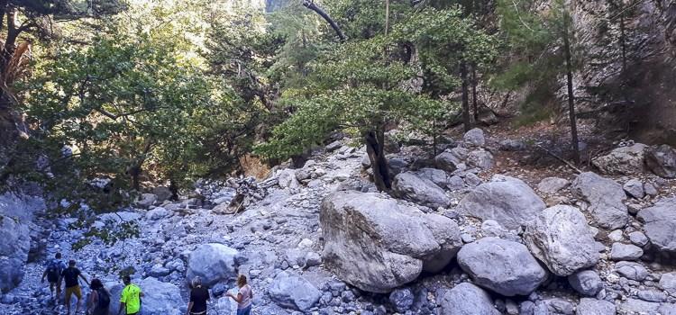 Samaria kloof Kreta Natuurlijk Linda