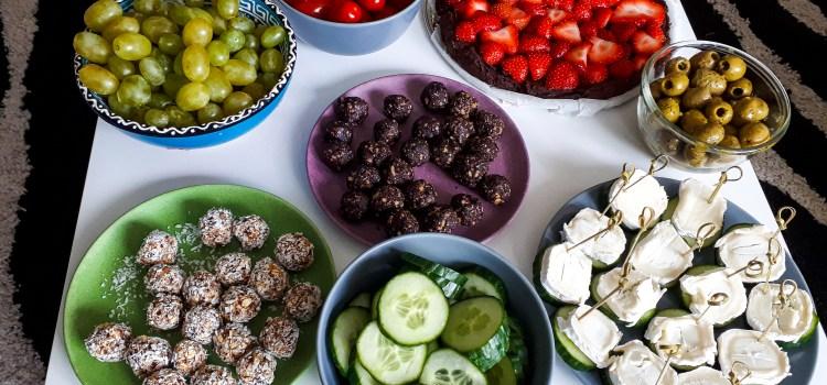 Makkelijke, snelle en gezonde snacks voor een verjaardagsfeestje