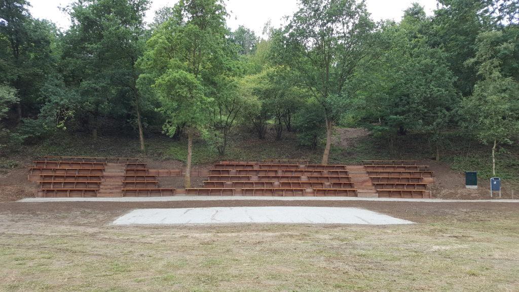 Afbeelding van de Hoofdpodium event area