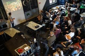 Jakob Dahl fra Alive Festival inspirerede de unge til at tænke stort