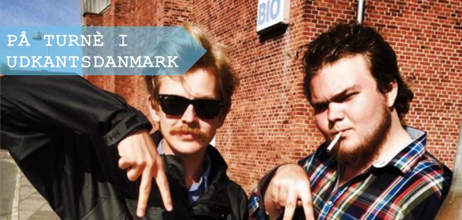 Jesper Frost og Mikkel Vinther, der står bag filmen Abrakadabra