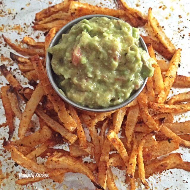 Flaming Jicama Fries