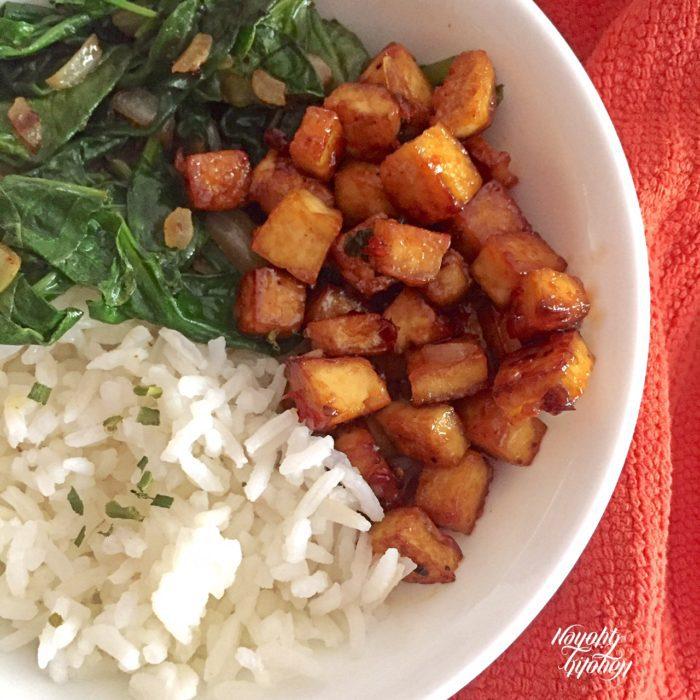 Sweet Chili Tofu Bowl