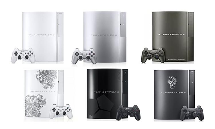 Editions Spéciales PS3