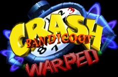 Logo Crash Bandicoot 3 Warped