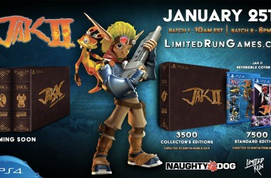 Jak 2 Edition Collector Ultra Limitée Limited Run Games