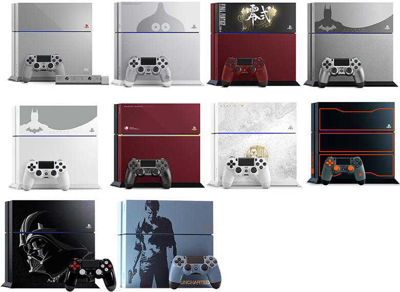 Editions Spéciales PS4