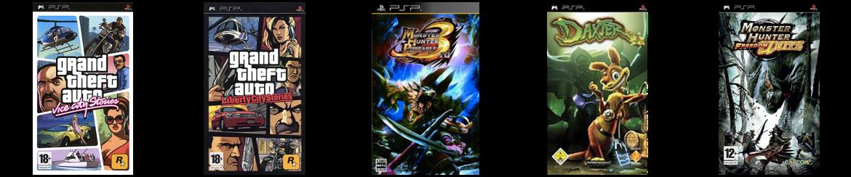 Les 5 Jeux les plus Vendus sur la PSP
