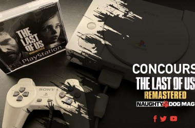 Concours Naughty Dog Mag - The Last Of Us Remastered PS One