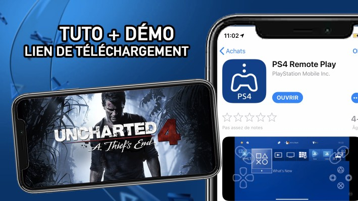 TUTO Jouer à la PS4 sur Mobile Remote Play