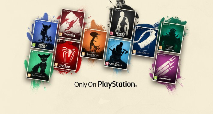 jeux Only On PlayStation