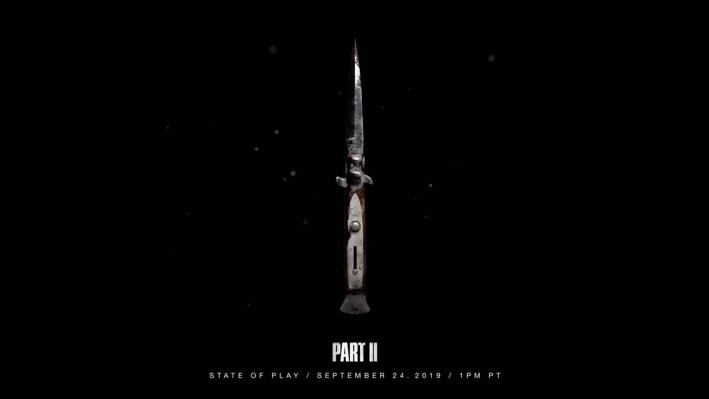 Officiel The Last Of Us Part II State of Play