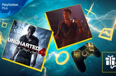 Uncharted 4 PS Plus Avril 2020