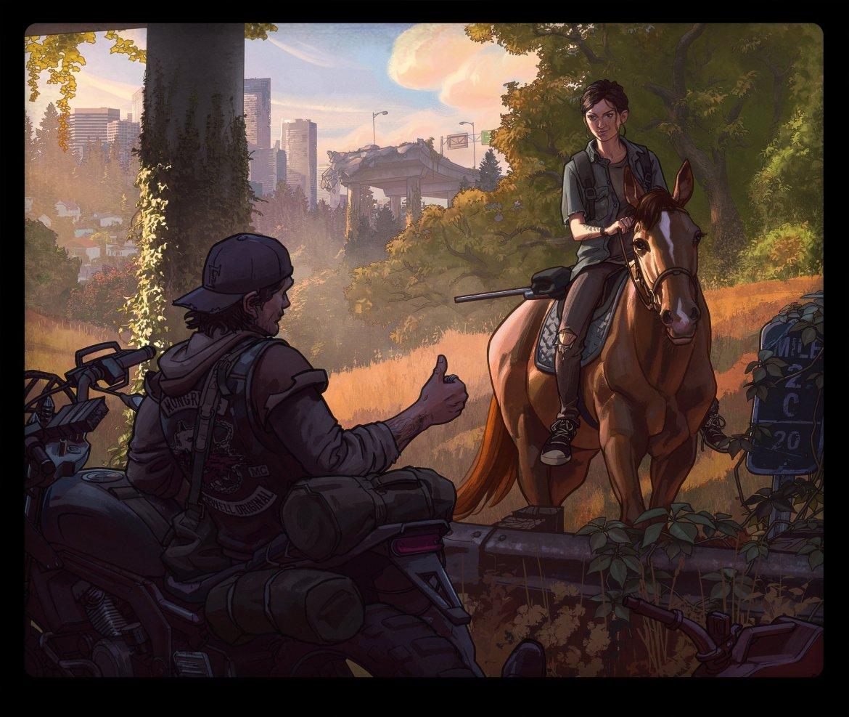 Bend Studio - Hommage Naughty Dog The Last Of Us Part II