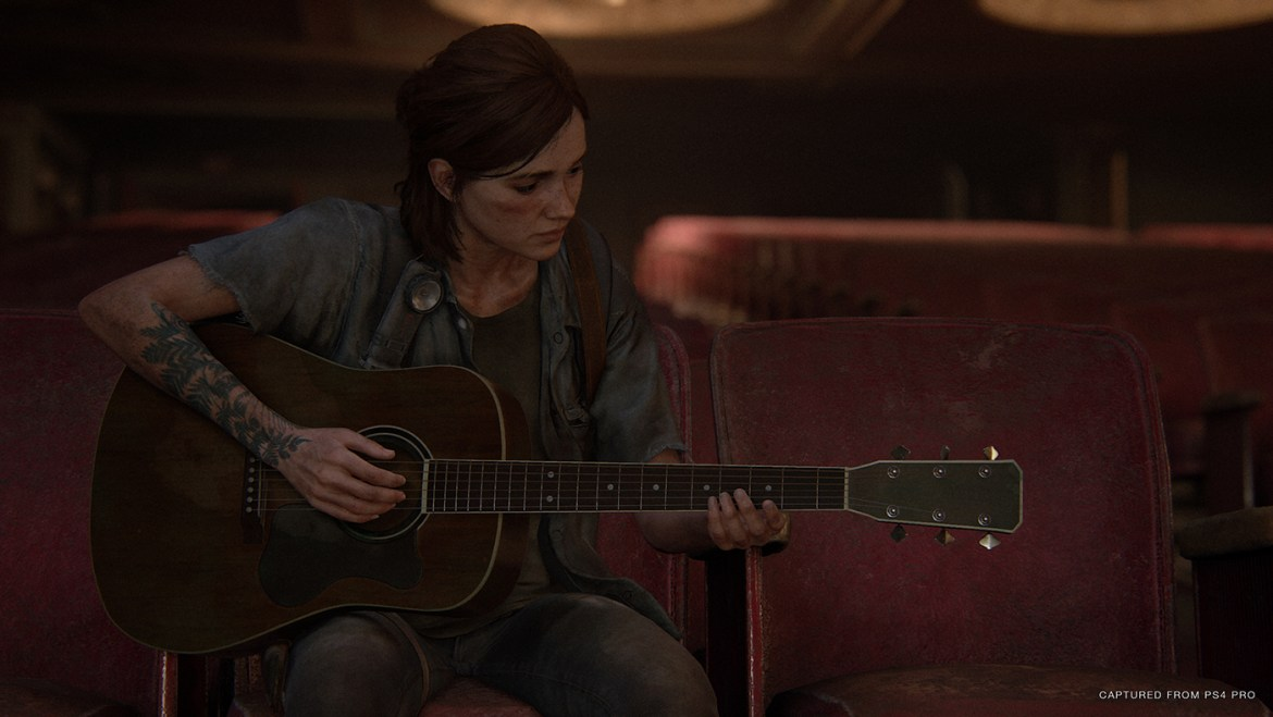 The Last Of Us PArt II - Ellie Guitare