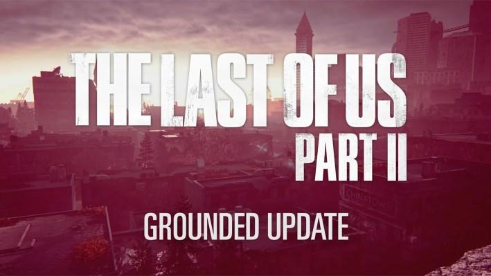 Détails Mise à Jour Grounded The Last Of Us Part II