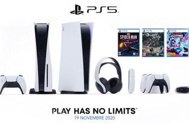 Précommande PS5, PlayStation 5, accessoires et jeux